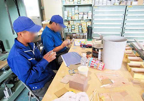 静岡県立吉原工業高等学校よりインターンシップ生2名を受け入れました